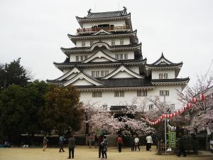 福山城とお花見